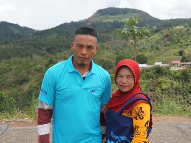 インドネシアコーヒー農家