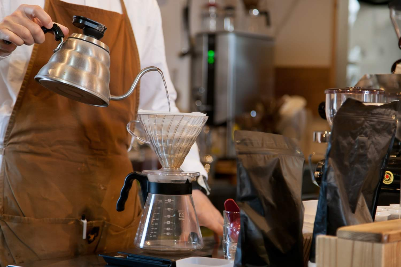 コーヒー抽出3