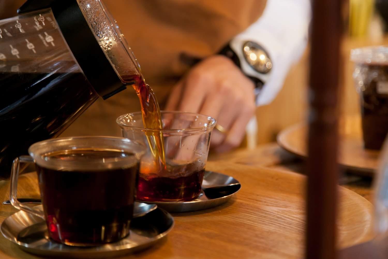 コーヒー提供時