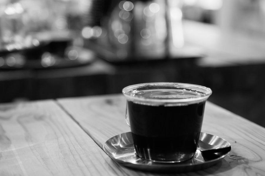 コーヒーモノクロ