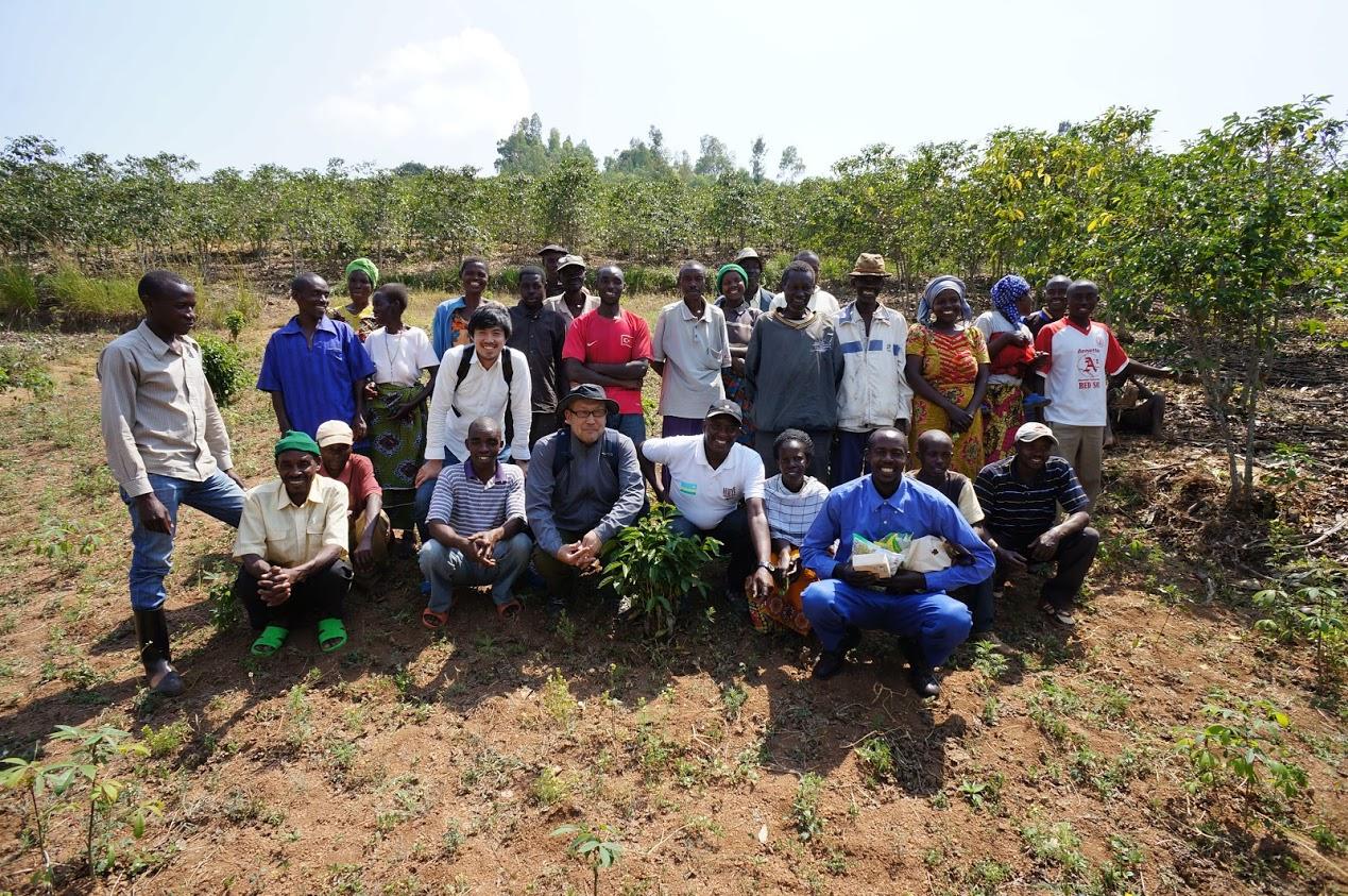 ルワンダ フイエ地区 コーヒー農家 BASE COFFEE